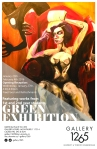 Green Exhibition Poster
