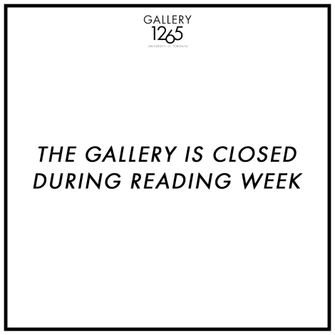 GALLERY IS CLOSED